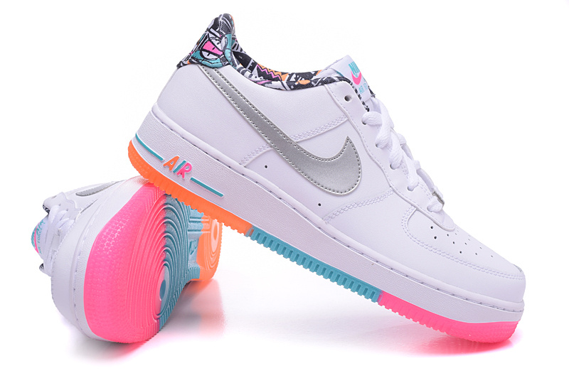 air force 1 femme fluo